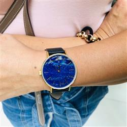 Frédéric V. verified customer review of MYKU Lapis Lazuli Gold 38mm Watch