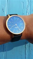 Franck P. verified customer review of MYKU Lapis Lazuli Gold 32mm Watch