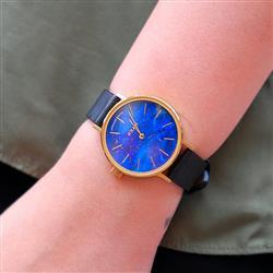 Duang K. verified customer review of MYKU Lapis Lazuli Gold 32mm Watch