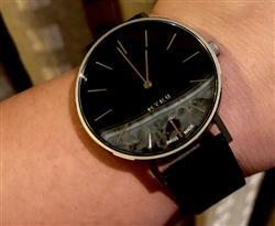 Asai verified customer review of MYKU Black Onyx Stainless Steel 38mm Watch