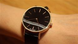 MYKU MYKU Black Onyx Rose Gold 38mm Watch Review