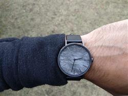 Jameel M. verified customer review of MYKU Obsidian Gun Metal 38mm Watch