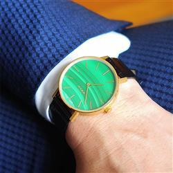 Siwat L. verified customer review of MYKU Malachite Gold 38mm Watch