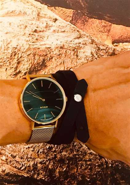 MYKU MYKU Malachite Gold 38mm Watch Review