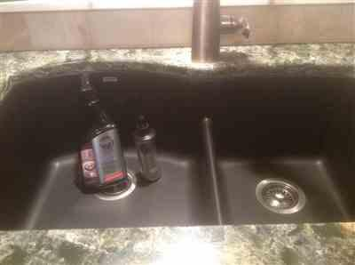 Bonnie Chiella verified customer review of Composite Granite Sink Cleaners Care Maintenance Kit