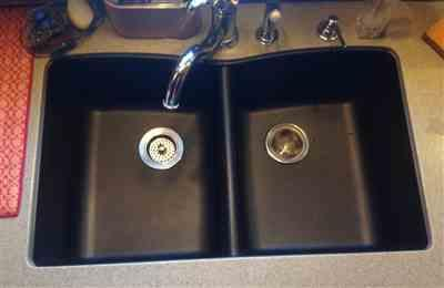 Glenda Sylvester verified customer review of Composite Granite Sink Cleaners Care Maintenance Kit