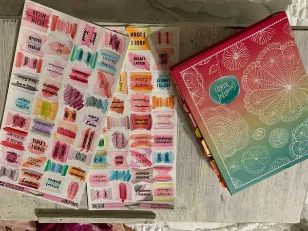 Bibles and Coffee DIY Bible Tabs (w/ 8 Piece Watercolor Set) Review