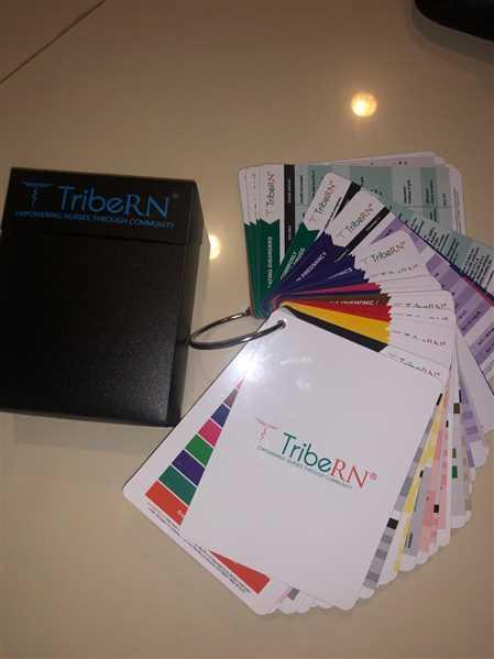 Tribe RN PocketGuru Set - 85 Scrub Pocket Sized Cheat Sheets Review