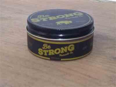 Daniel Alfaro verified customer review of Be Strong Co. - Heavy Hold Pomade