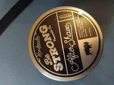 Emilio Sandoval verified customer review of Be Strong Co. - Aftershave Menthol Cream