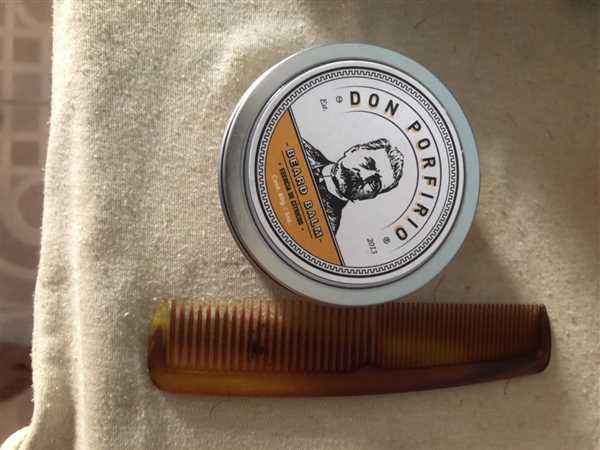 Antonio Lagunas verified customer review of Don Porfirio - Bálsamo para Barba