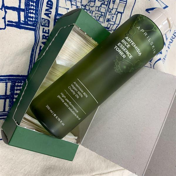 aprilskin.com.sg [NEW & VEGAN] Real Artemisia Rice Essence Toner (+FREE gift) Review