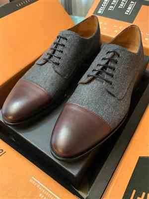Mauricio Martinez verified customer review of The Jack Shoe in Grey/Oxblood