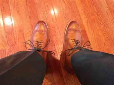 Panteleimon Ekkekakis verified customer review of The Mack Boot in Burnt Honey