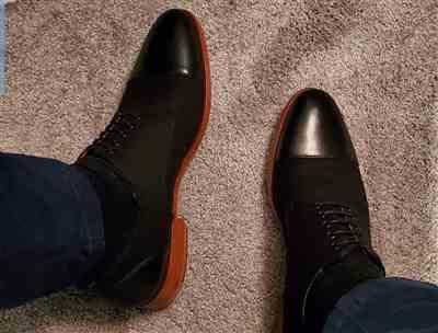 Cleo Davis III verified customer review of The Jack Shoe in Black