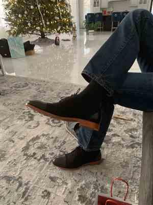Bogdan Mendryshora verified customer review of The Jack Shoe in Black