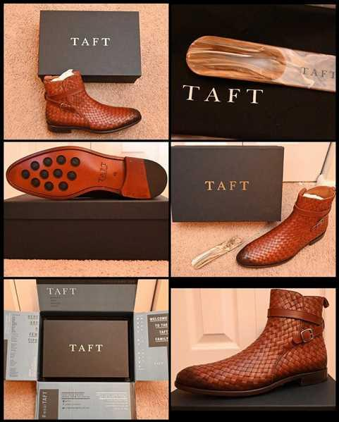 TAFT The Dylan Boot in Woven Review