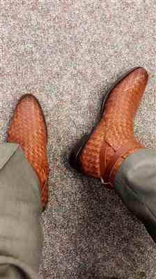 Derrick Barrow verified customer review of The Dylan Boot in Woven