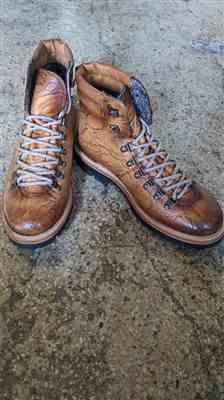 Kevin Passino verified customer review of The Viking Boot in Cedar