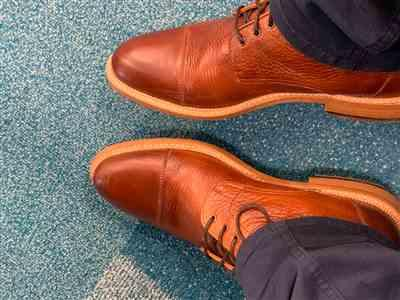 JUan CAbrera verified customer review of The Rome Boot in Oxblood