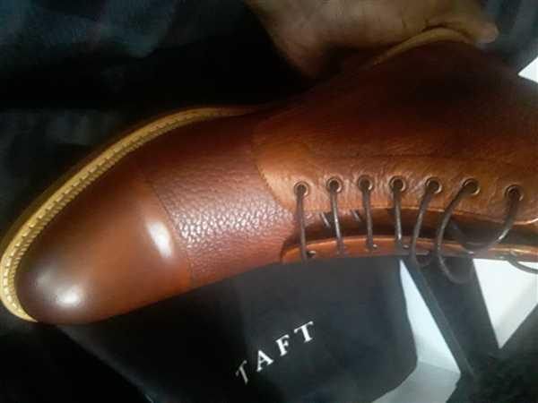TAFT The Rome Boot in Brown Review