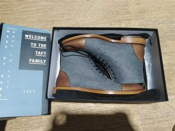TAFT The Jack Boot in Navy Review