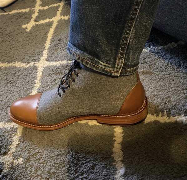 TAFT The Jack Boot in Calico Review