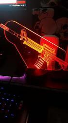 J***o verified customer review of 3D AR-15 LED Lamp