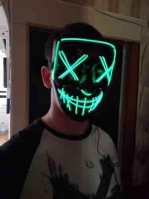 Saun verified customer review of LED Purge Mask