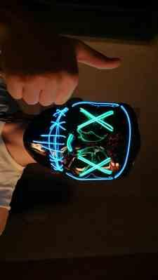 Andy verified customer review of LED Purge Mask