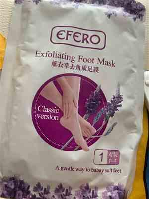 O***. verified customer review of Exfoliating Foot Socks