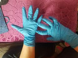 Helen D. verified customer review of Heavy Duty Nitrile Gloves - Extra Thick 8-10 Mil, Powder Free, SkinTx® by TG Medical