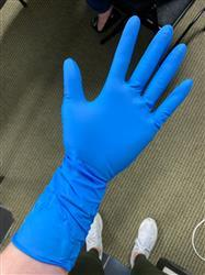 Keith C. verified customer review of Heavy Duty Nitrile Gloves - Extra Thick 8-10 Mil, Powder Free, SkinTx® by TG Medical