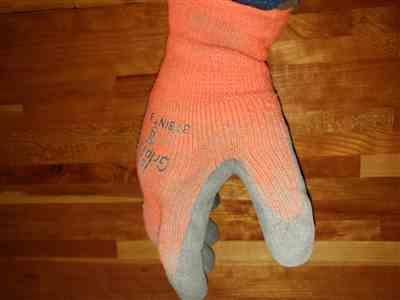Kelly M. verified customer review of Ice Gripster™ 378INT Thermal Insulated Cold Condition / Freezer Work Glove in Hi-Vis Orange