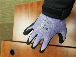 Chase H. verified customer review of Tsunami Grip® 550XFT Extreme Foam Nitrile Coated Work Glove