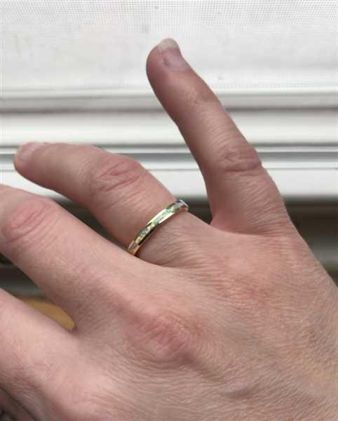 local eclectic White Opal Inlay Ring in Gold Review