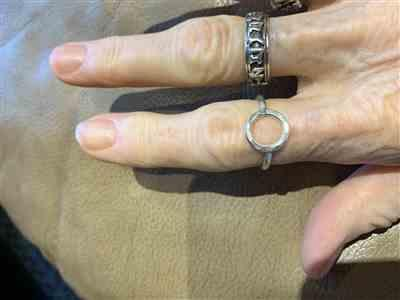 Karen Dorton verified customer review of Circle of Enlightenment Ring