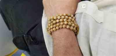 Edward M. verified customer review of Hand Knotted Lotus Seed Mala