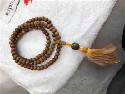sandra malinoski verified customer review of Sandalwood Meditation Mala