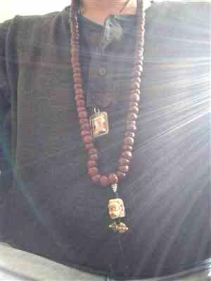 Christopher Ropes verified customer review of Fierce Mahakala Bodhi Mala