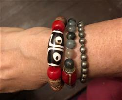 Aji K. verified customer review of Dzi Bodhi Wrist Mala