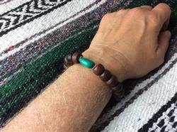 Ken O. verified customer review of Stretchy Bodhi and Turquoise Wrist Mala
