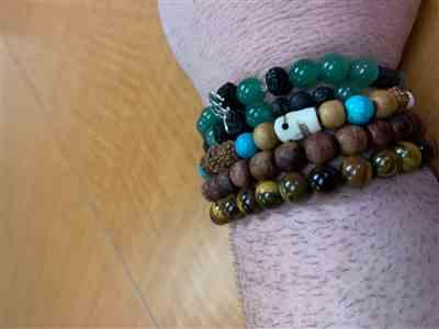 Dharma Shop Tiger Eye Wrist Mala Review