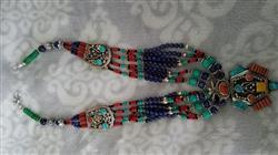 Ana O. verified customer review of Coral and Turquoise Tibetan Necklace