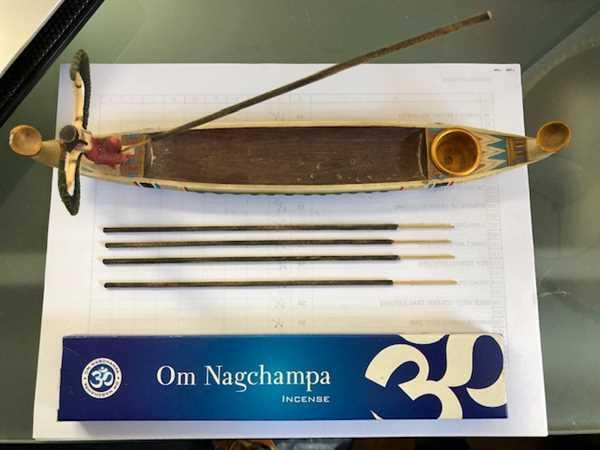 Ed Burwell verified customer review of Om Nagchampa Incense