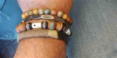 Jay T. verified customer review of Skull Bone and Inlaid Bodhi Seed Wrist Mala