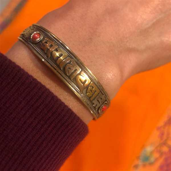 Dharma Shop 3 Metal Om Mani Sanskrit Bracelet Review