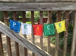 Laura G. verified customer review of P.E.A.C.E. Prayer Flags