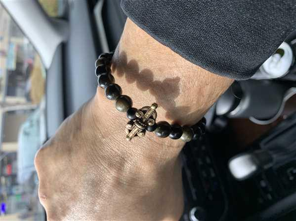 Francisco Cano verified customer review of Negativity Blocking Obsidian Mala