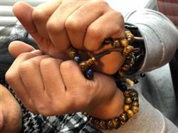 Amran A. verified customer review of Strengthening Tiger Eye with Lapis 108 Bead Mala